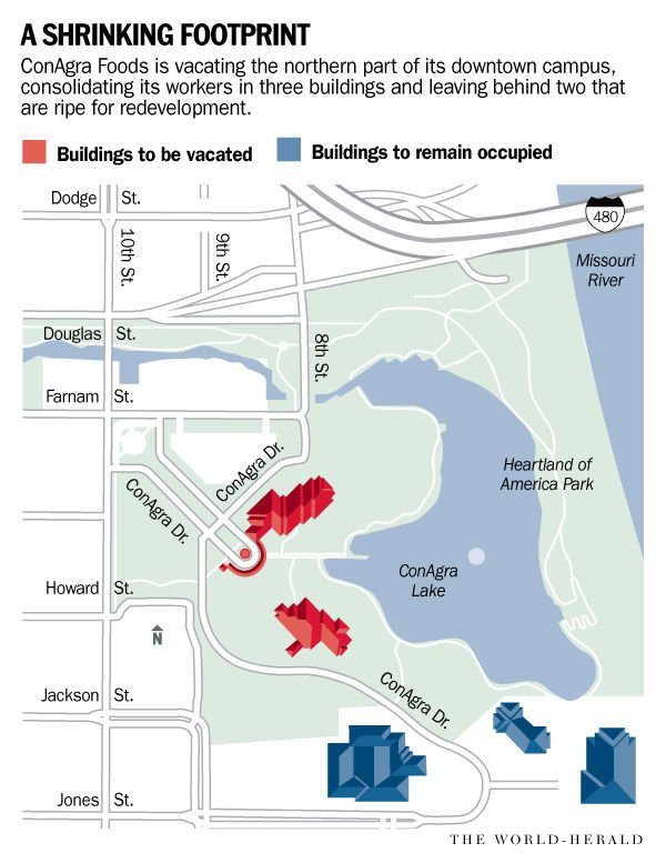 ConAgra will vacate two buildings downtown; options open for ... on facebook headquarters campus, facebook looks like map, daytona state college map, facebook corporate locations map, facebook map circa 2013, facebook campus menlo park, facebook football map, facebook frank gehry building, facebook home, facebook connection map, facebook search,