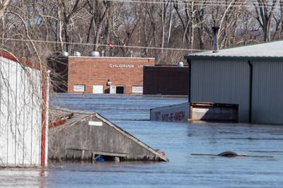 Plattsmouth wastewater treatment plant photo from March 2019