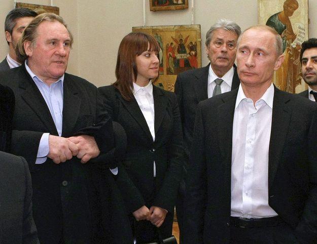 French actor Gerard Depardieu now a Russian citizen
