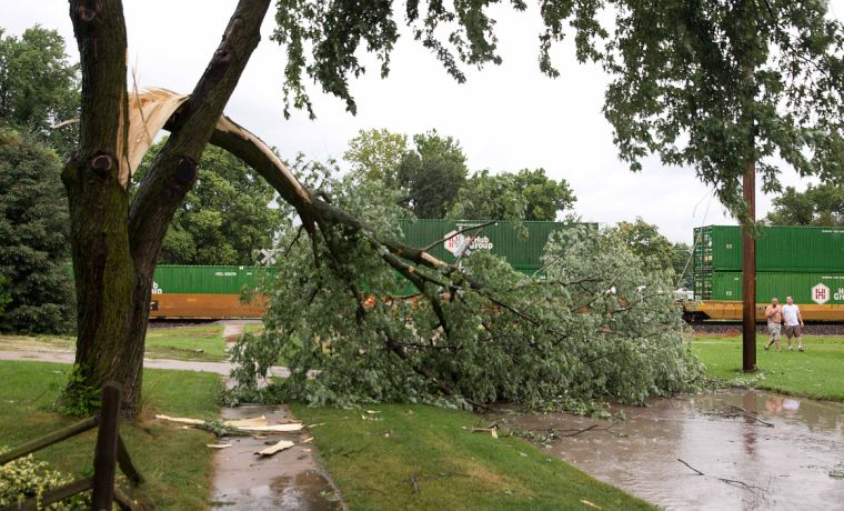 2nd round of storms still expected today in Omaha