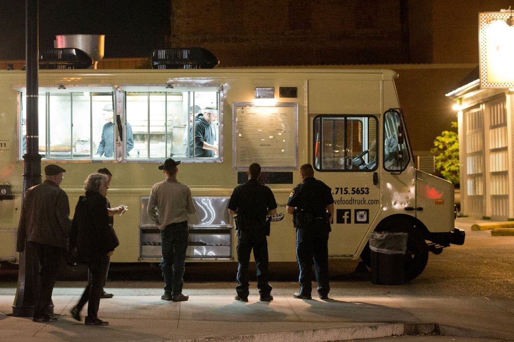 In Old Market Food Trucks And Restaurants Are In A Pickle Living