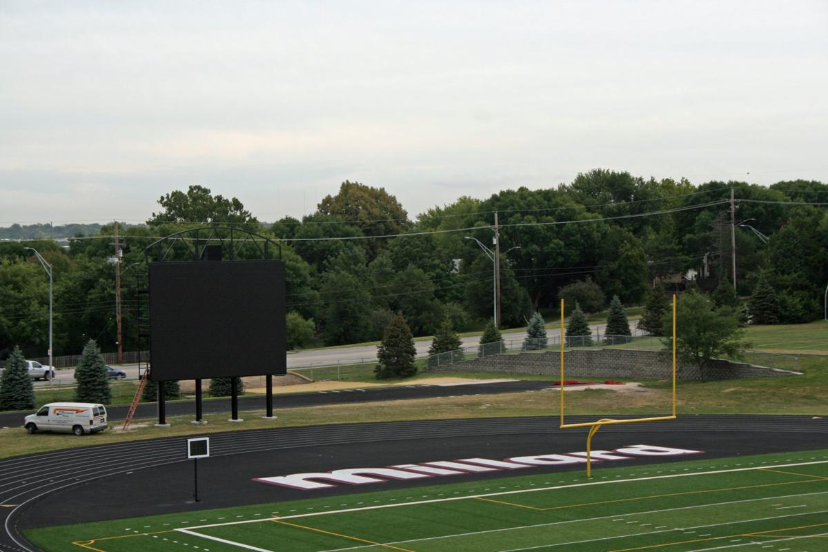 Renovations to Buell Stadium scoreboard