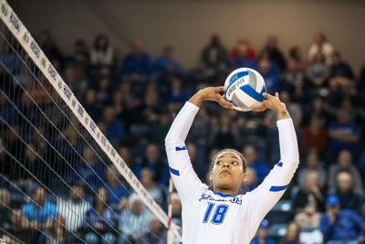 How has Creighton volleyball's Madelyn Cole prepared for this season? A month away from the game