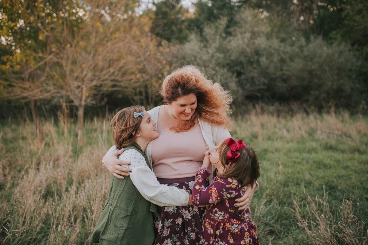 Rachel Higginson and daughters