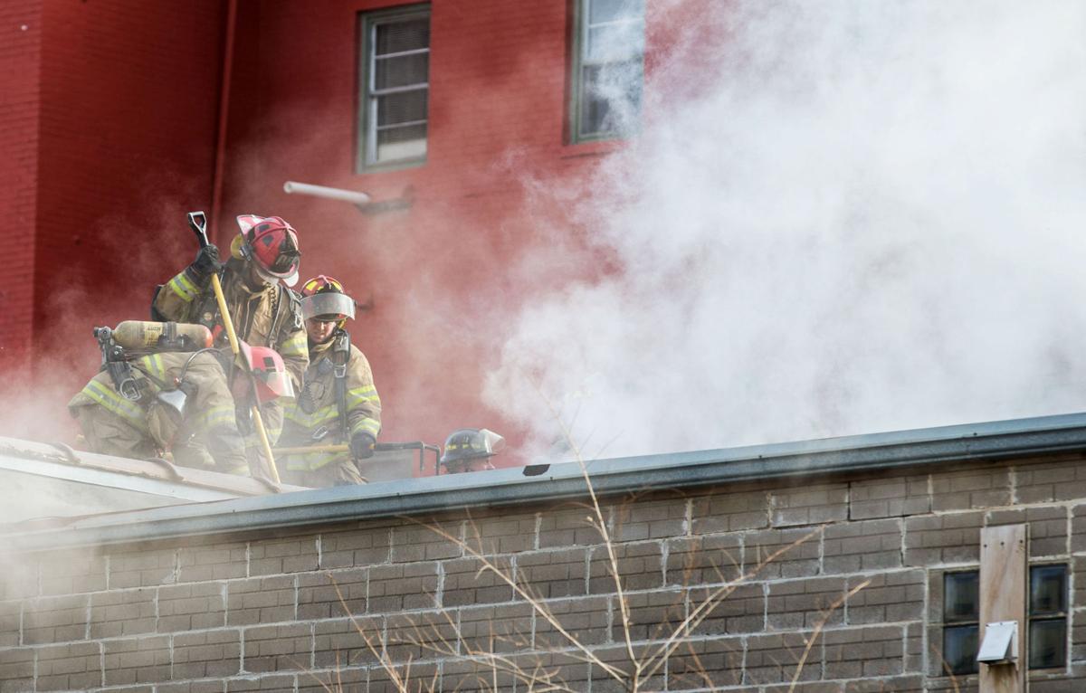 Blaze last January at Sons of Italy Hall