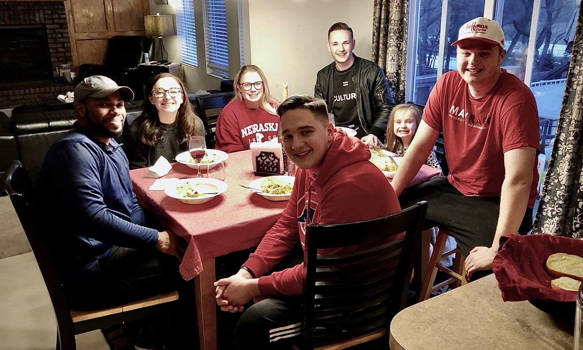 Lynn Kirkle family together