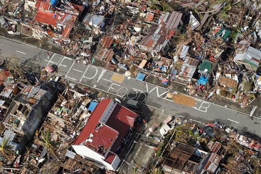 To help typhoon victims, send money, not stuff
