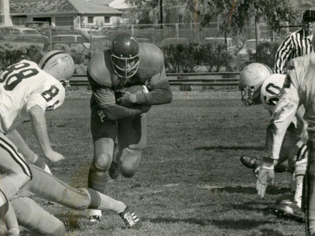 Tom Kropp football