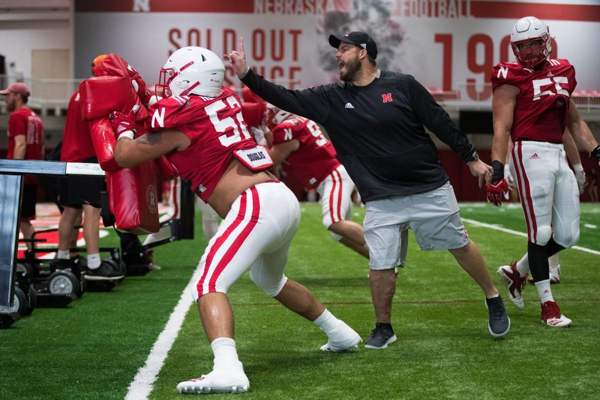 'Toughness is an action': Husker coaches encouraged by physical, tone-setting practices