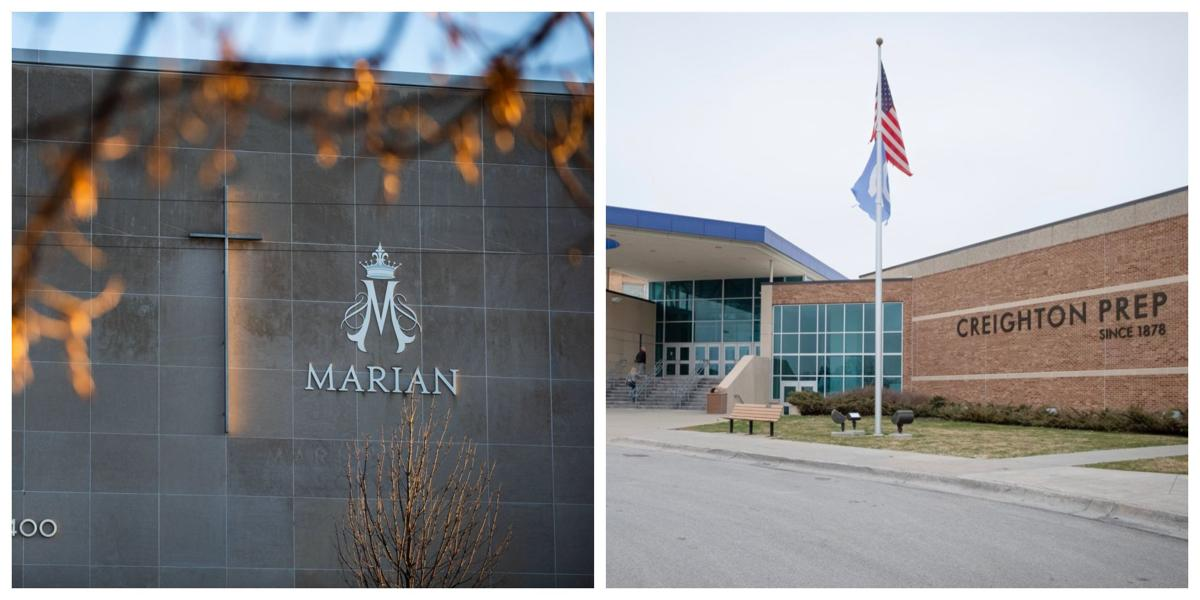 Creighton Prep High School and Marian High School