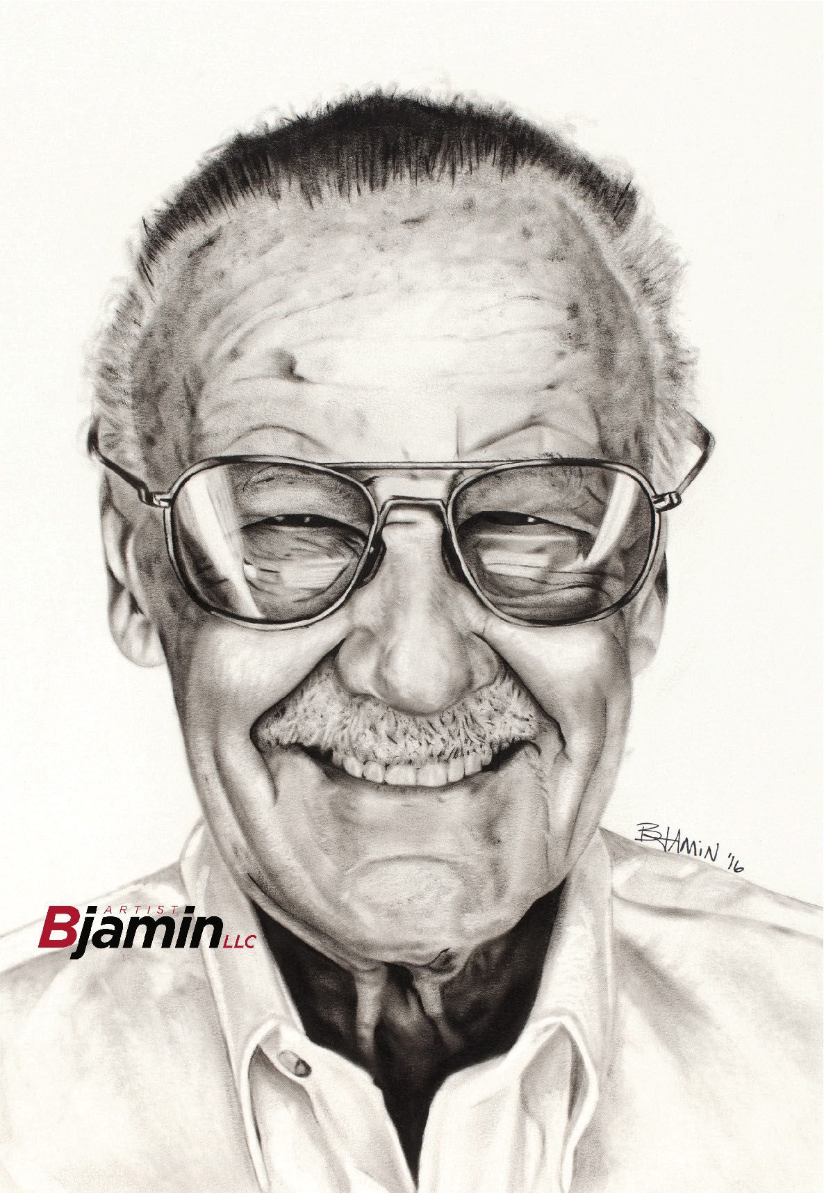 Omaha artists stan lee portrait was so good that its headed to stan lees museum of art comics