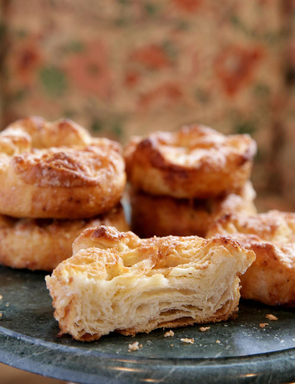 Kouign-amann is a rich, dense pastry.