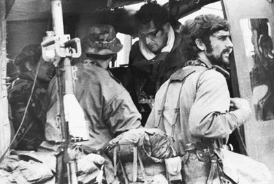 Remains of 5 Vietnam War photojournalists killed in copter crash wait at Offutt for permanent burial