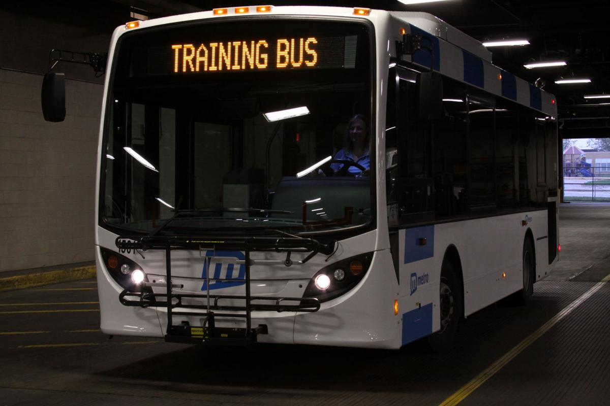 Metro Bus Cleaner : In million upgrade new metro transit buses will