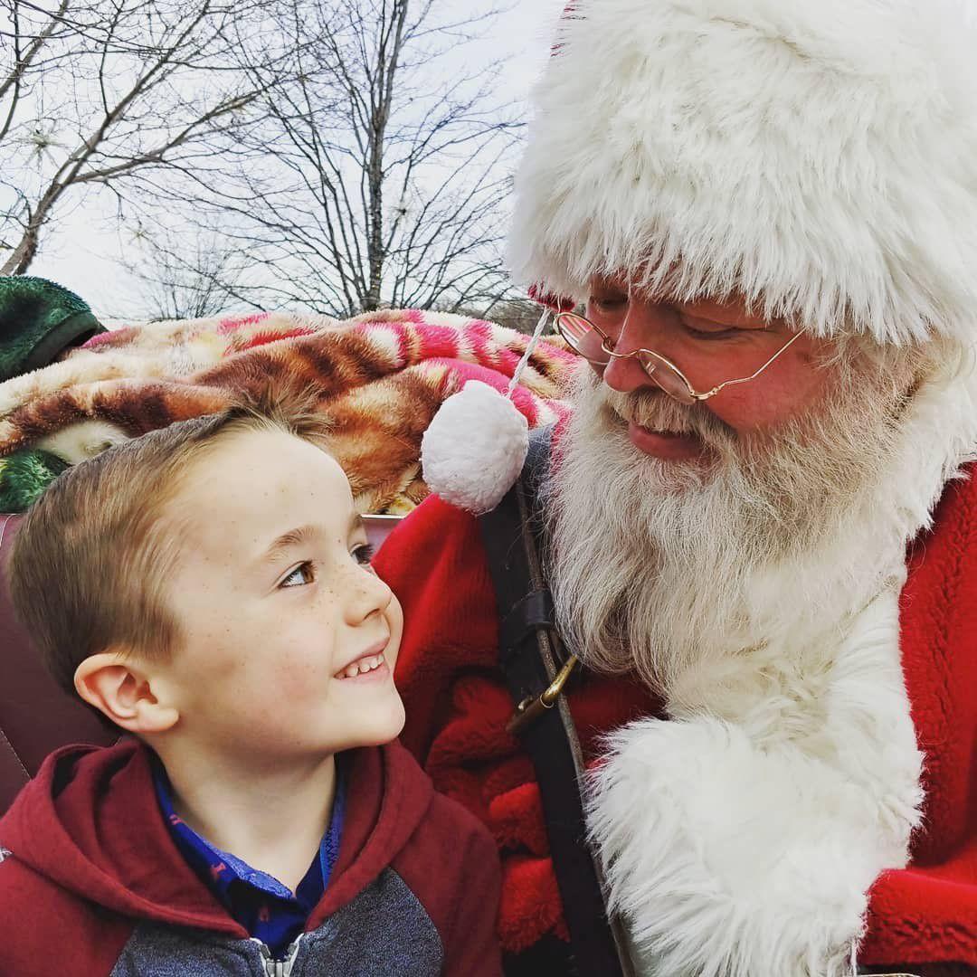 Santa in the Village