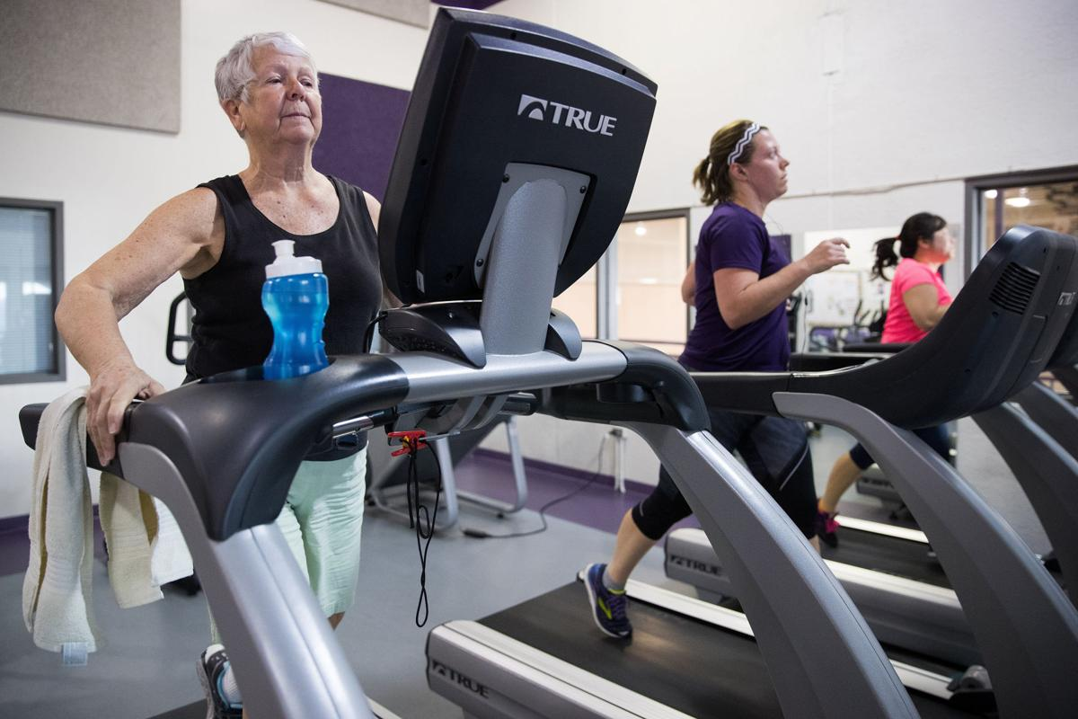 Hardships couldn't disrupt Bellevue woman's fitness routine