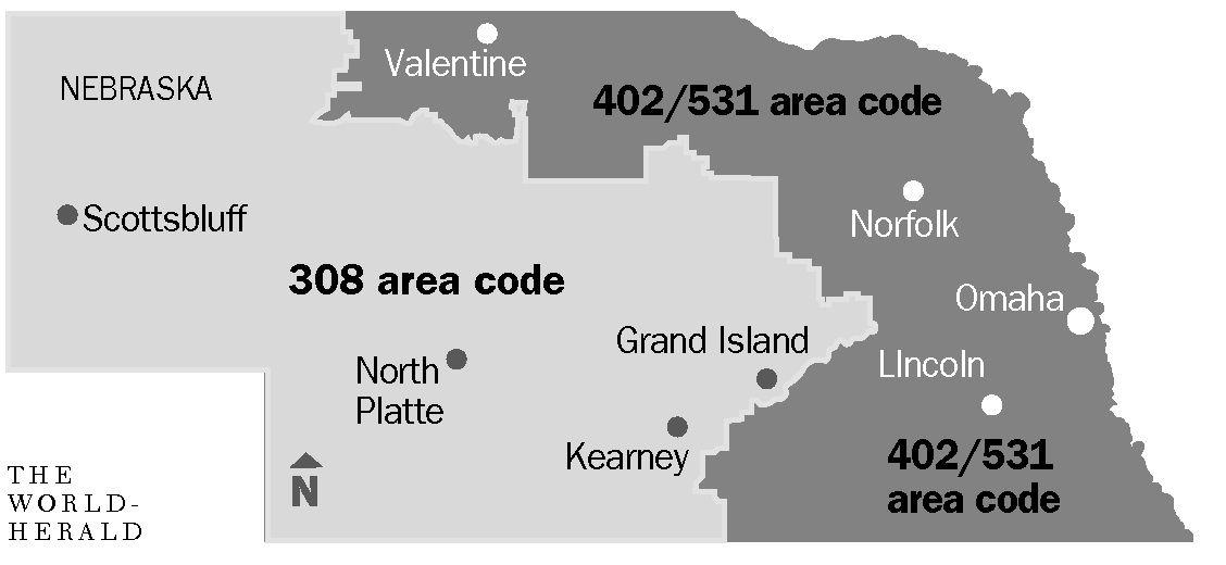 No Specific Towns For Area Code Articles Omahacom - Area code 531