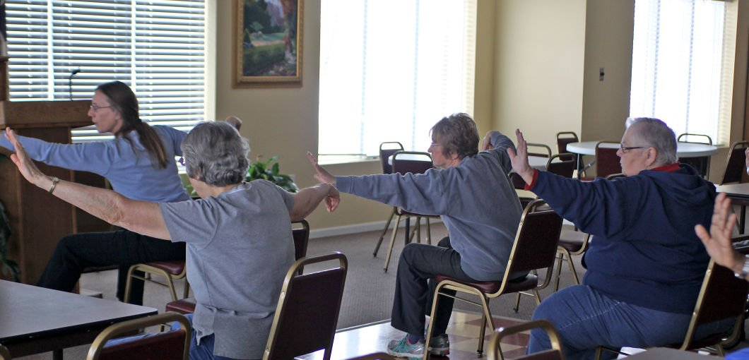 New class helps Ralston seniors find their chi