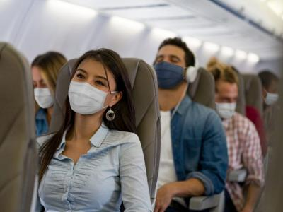 When you look at airplane ventilation and infection numbers, flying actually comes with less risk of catching COVID-19 than you might think.