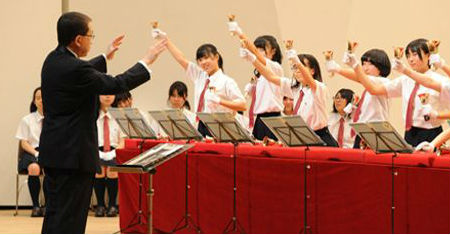 Handbell choir from Japan to perform at gardens