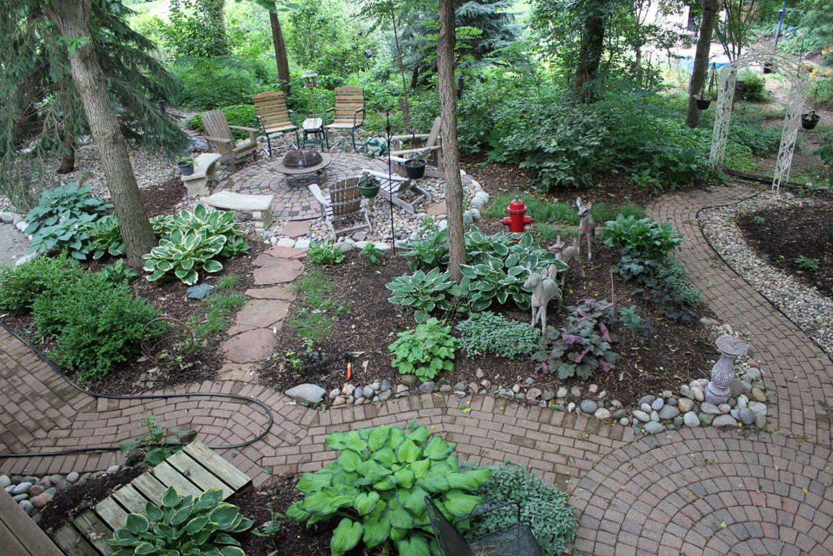 dig plant relax over 2 decades papillion man turns backyard