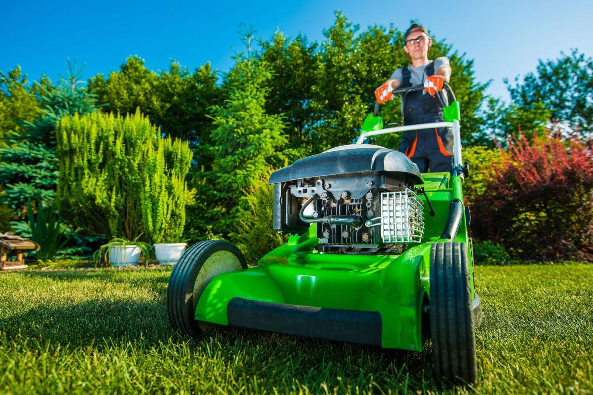 Mulch mow weed and grow do you want to do it yourself or ask an ask friends and neighbors for recommendations when searching for a lawn care company solutioingenieria Gallery