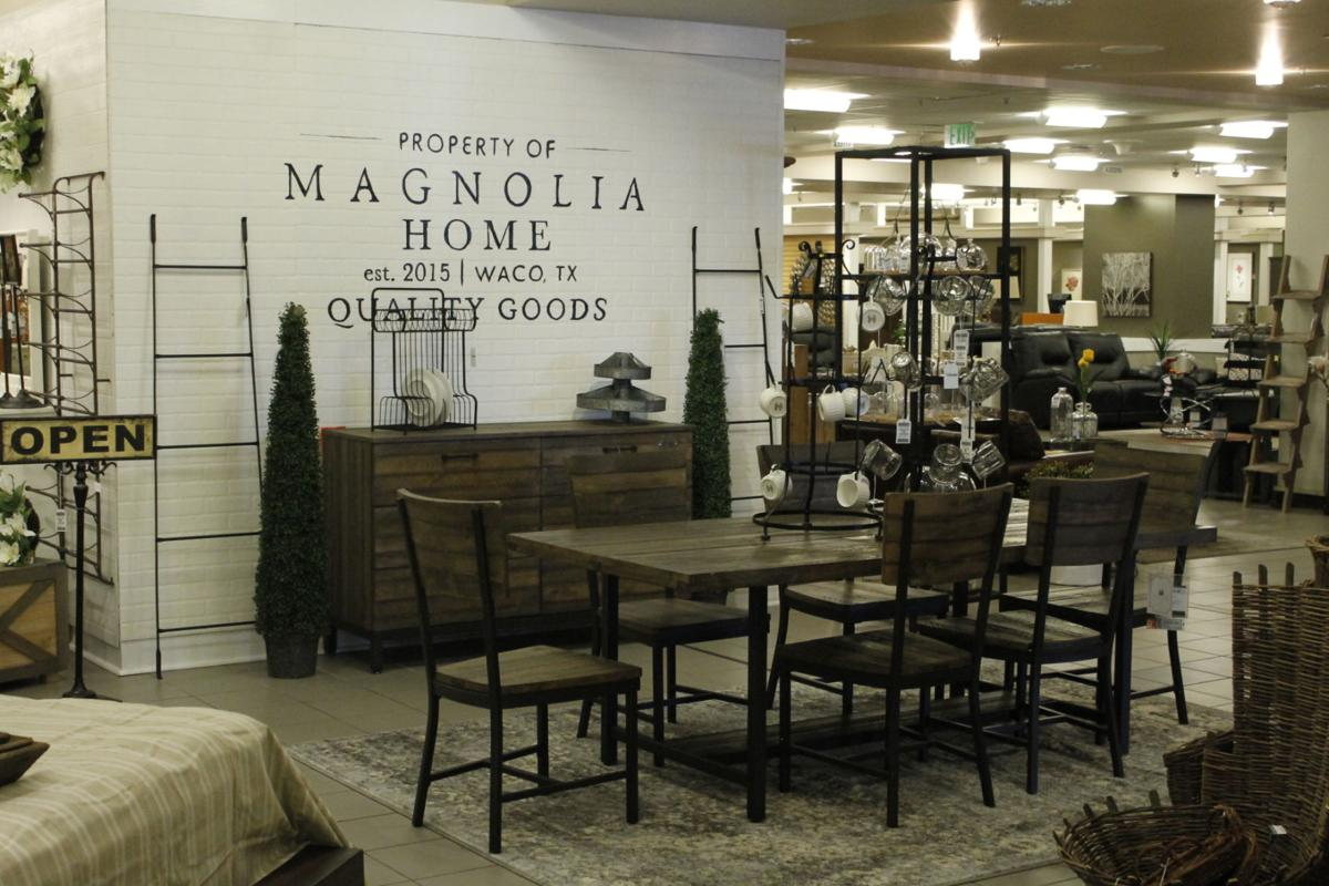 Hgtv star joanna gaines 39 furniture line now available at nebraska furniture mart money Magnolia home furniture online