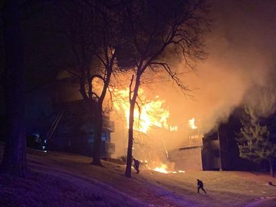 Bellevue apartment fire on Christmas