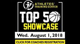 Register: Athletes' Training Center Top 50 Showcase
