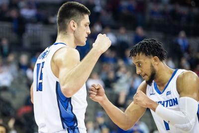 Creighton juniors Martin Krampelj and Davion Mintz declare for NBA draft