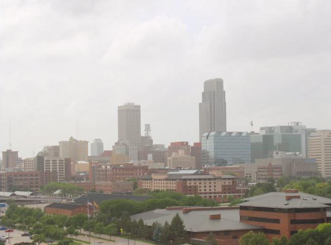 Saharan dust cloud reaches Omaha