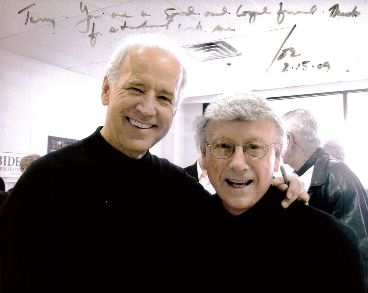 Joe Biden and Terry Moore