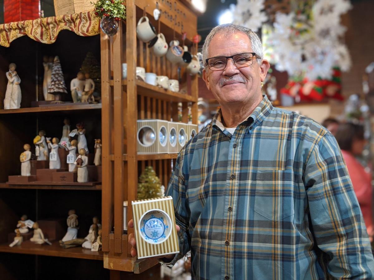 Jeff Jorgensen, owner of the Tannenbaum Christmas shop