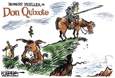 Jeff Koterba's latest cartoon: Mueller's latest role