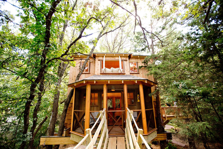 A Dream Treehouse Grew In Nebraska, Thanks To A Reality TV Show   Living    Omaha.com