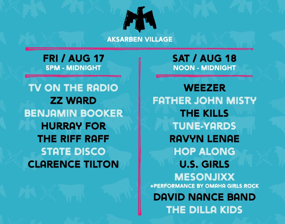 Maha 2018 lineup