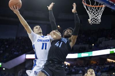 Creighton has home winning-streak snapped in loss to No. 16 Villanova