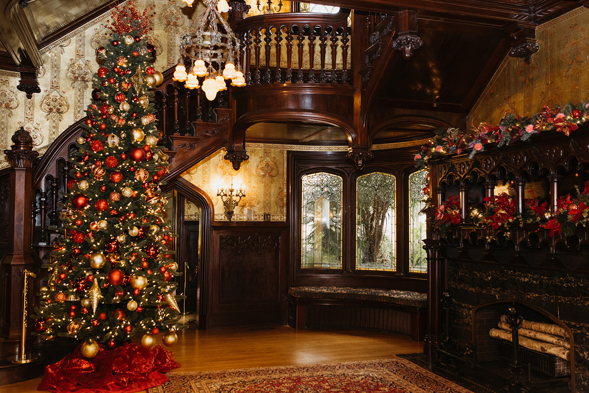Joslyn Castle for the Holidays