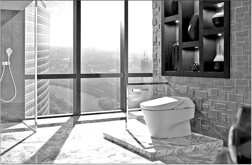 Futuristic bath upgrades add luxury, value