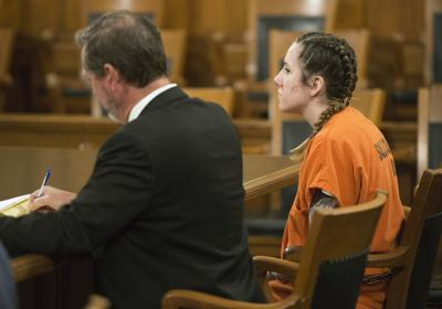 Bailey Boswell in court