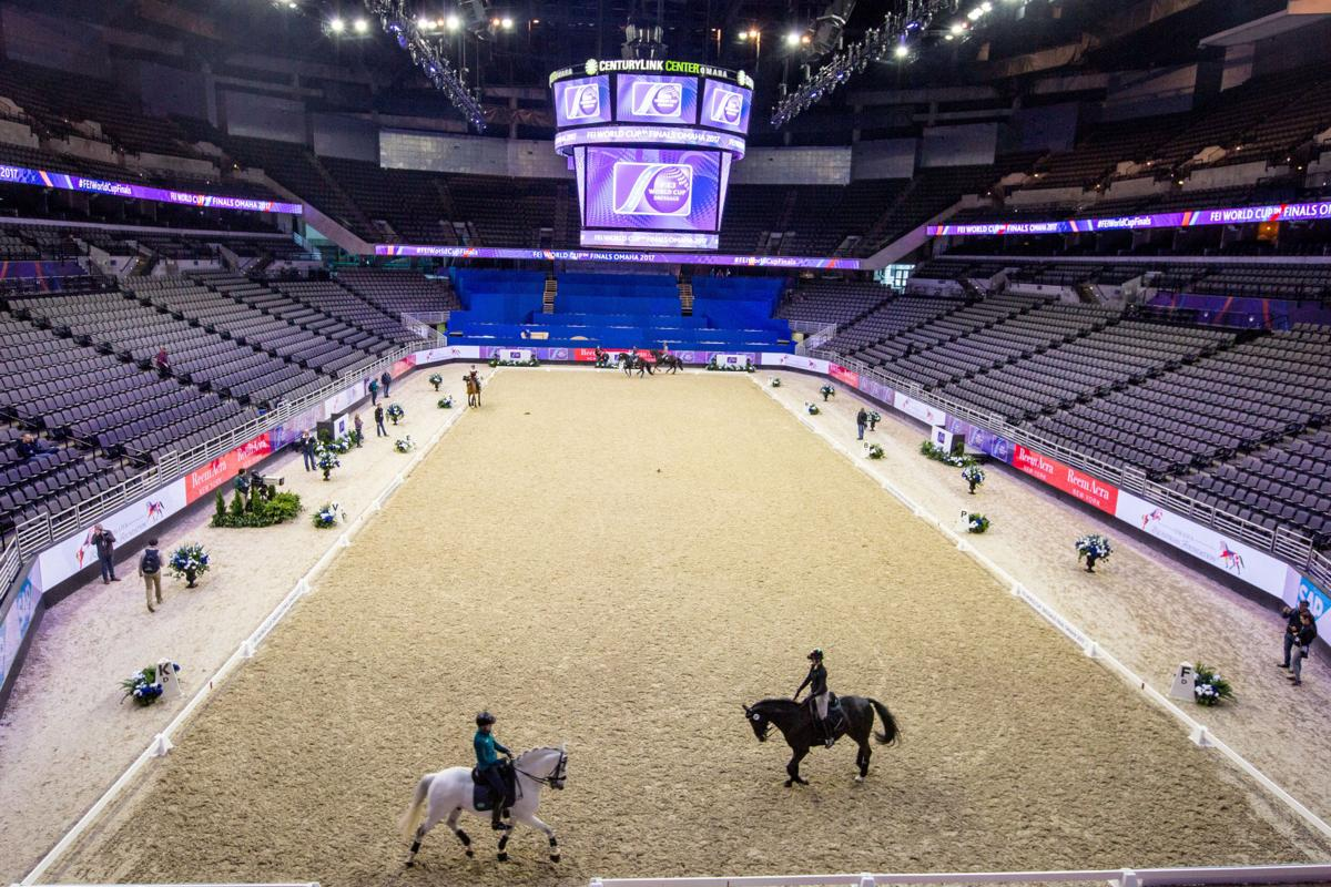 FEI World Cup setup