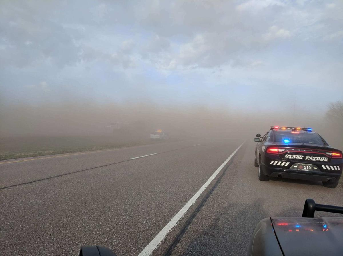 Blackout Dust Storms Cause Two I 80 Pileups In Two Days Killing 1