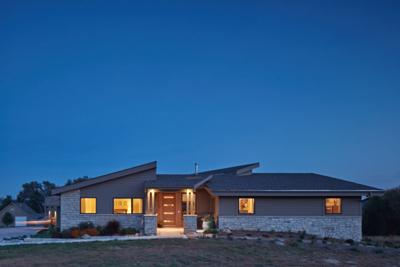 It's better than a sd bump': Modern ranch home built with ... on log home floor plans, concrete home floor plans, sip home floor plans, strange home floor plans, wood home floor plans, timber frame home floor plans, ici home floor plans, epa home floor plans, block home floor plans, home building floor plans, straw bale home floor plans,