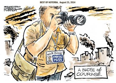 Best of Jeff Koterba's cartoons: Covering the world