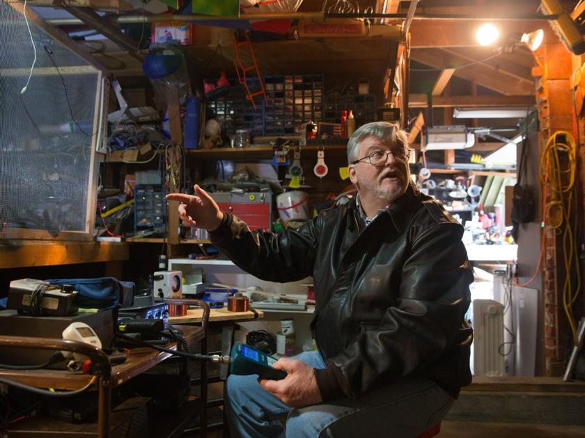 Working toward a warp drive in his garage lab omahan