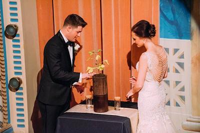 Dr  & Mr  Bourbon & Bouquets // Unity Tree | Wedding Essentials