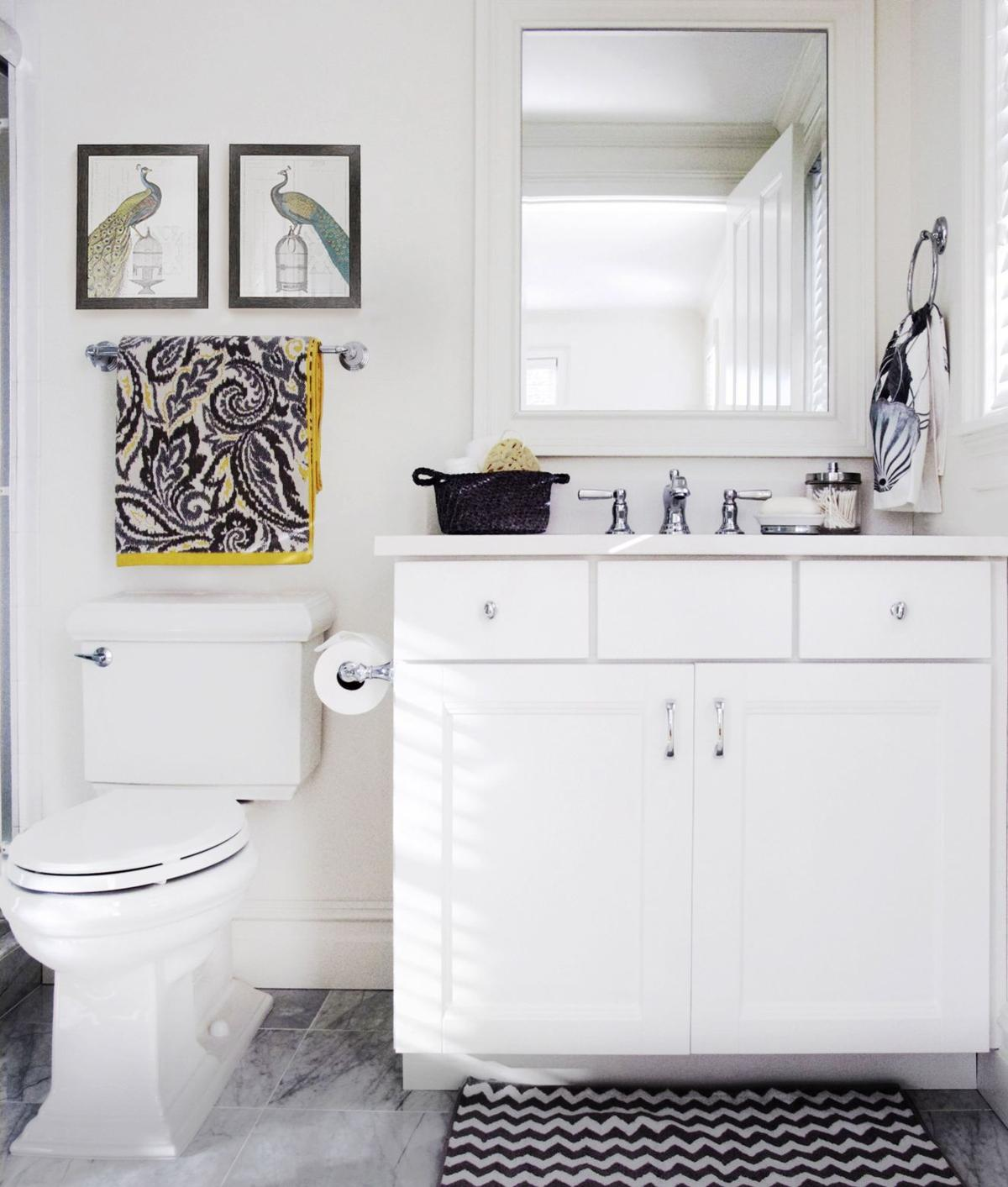 Five ideas to freshen a bathroom on a budget | Inspired Living ...