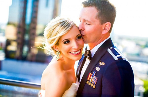 Military Air Force Wedding