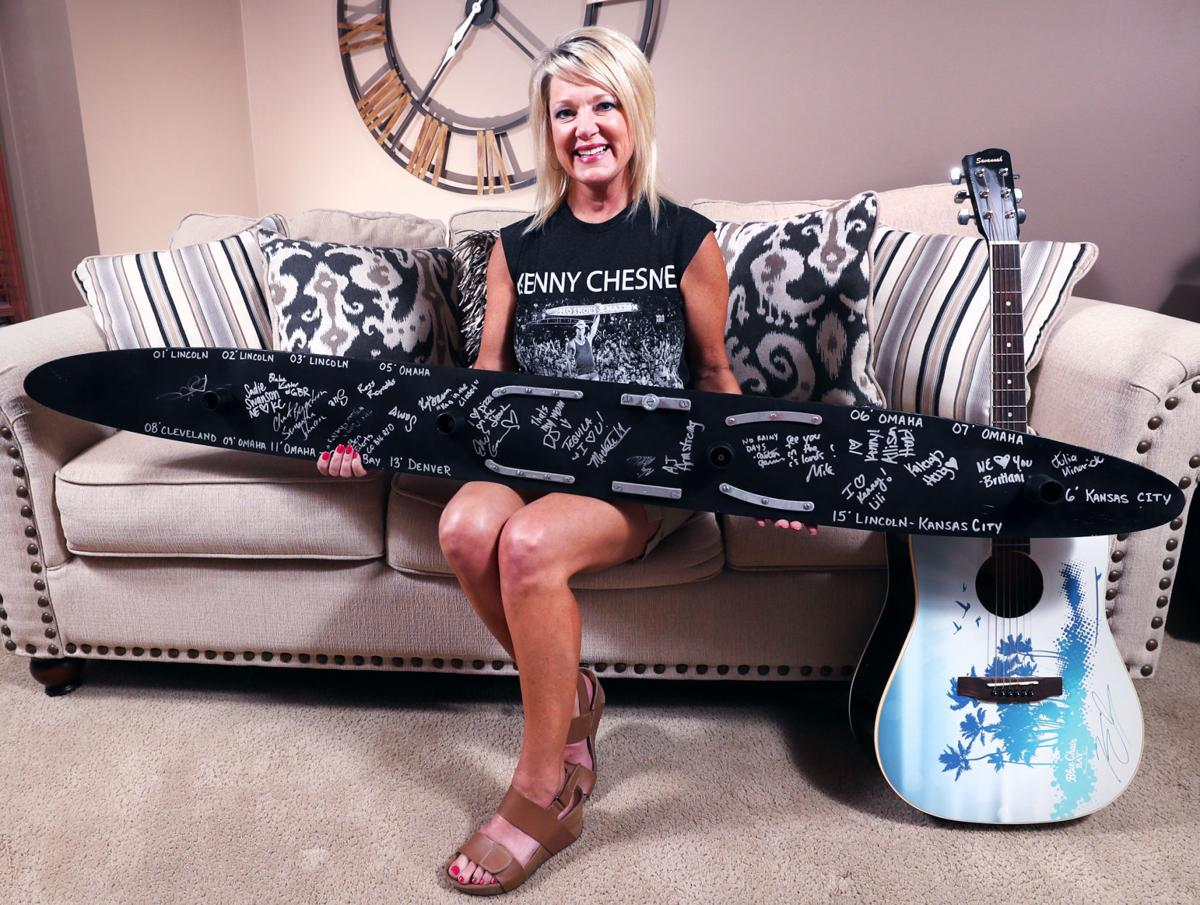 Nebraska woman gets \'shotski\' back from country star Kenny Chesney ...