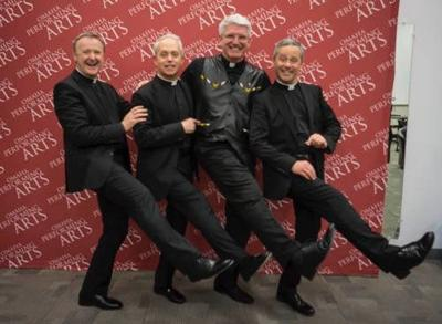 Kelly: Omaha concert by renowned tenor trio 'The Priests